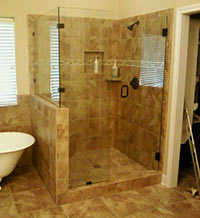 Custom Built Showers